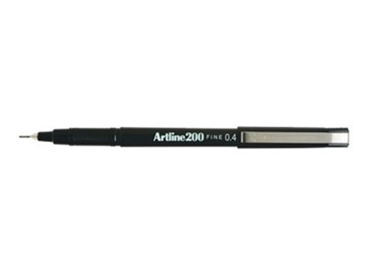 Artline 04mm black marker