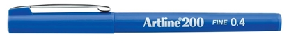 Artline 04mm blue pen