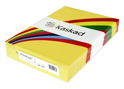 Picture of Kaskad A4 225gsm Canary Yellow Pkt100