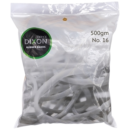 Picture of DIXON RUBBER BANDS 500GM NO.16