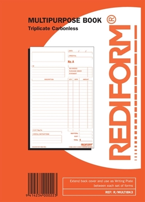 Picture of Rediform Triplicate Multipurpose Book