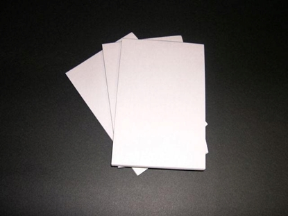Picture of Ps A6 Plain White Bond Pad 50Lf