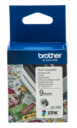 Picture of Brother CZ-1001 9mm Printable Roll Cassette