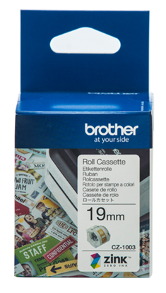 Picture of Brother CZ-1003 19mm Printable Roll Cassette