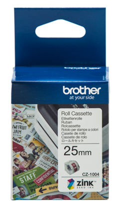 Picture of Brother CZ-1004 25mm Printable Roll Cassette