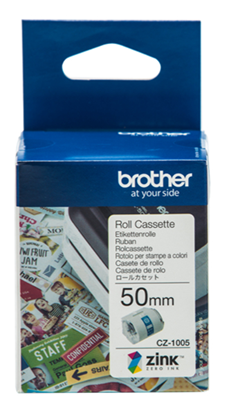 Picture of Brother CZ-1005 50mm Printable Roll Cassette