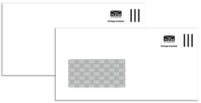Picture of NZ Mail Envelope DLE Prepaid Window Seal Easi Box 500