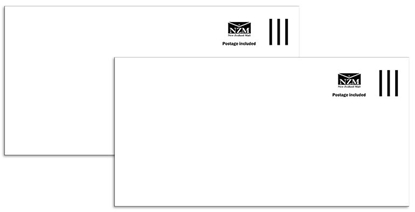 Picture of NZ Mail Dle Postage Paid Non Window Envelopes