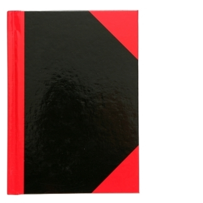 Picture of Collins A6 Notebook Red & Black 100Lf