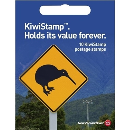 Picture of NZ Post KiwiStamp Postage Stamps, Pack of 10