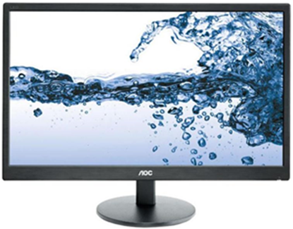 """Picture of AOC E2070SWN 20"""" 16:9 1600x900 LED 5ms Monitor"""