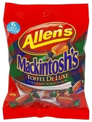 Picture of Allens Mackintosh Toffees Family 200g Bag