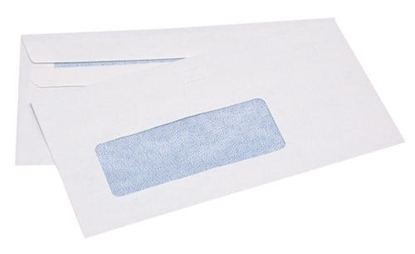 Picture of 1111 9S Banker Window S/S Envelopes White Box 500 92X165mm