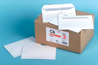 Picture of 4112 C6 Banker Self Seal Envelopes White Box 500 114X162mm