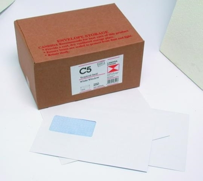 Picture of 8121 C5 Banker Window T/S Envelopes White Box 250 162X229mm