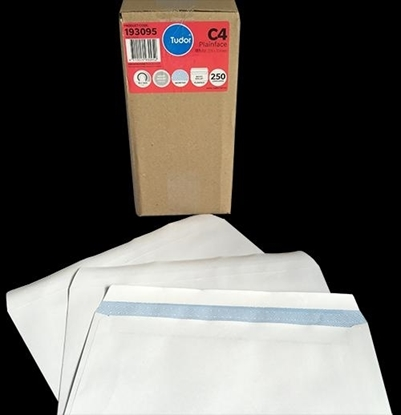 Picture of 9312 C4 Banker Self Seal Envelopes White Box 250 229X324mm