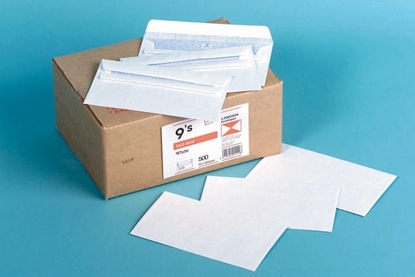 Picture of 1112 9S Banker Self Seal Envelope White Box 500 92X165mm