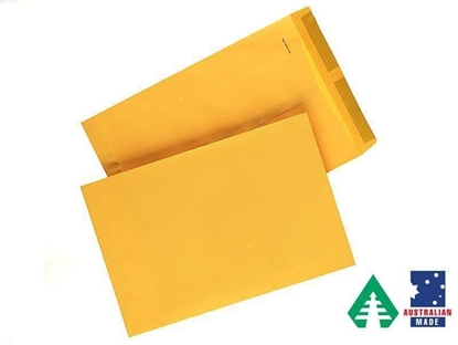 Picture of 8522 C5 Banker Tropical Seal Envelope Manilla Box 250 162X229mm