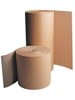 Picture of Corrugated Board Single Face 1400mm X 75m