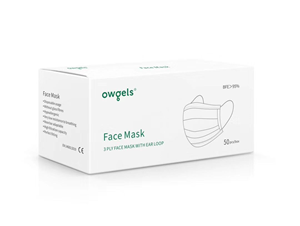Picture of OWGELS Face Mask Box 50 pieces