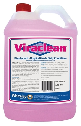 Picture of Viraclean Hospital Grade Disinfectant 5l